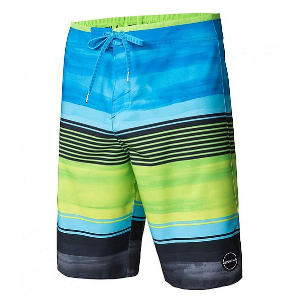 O'Neill Hyperfreak Heist Mens Board Shorts, Lime, 600