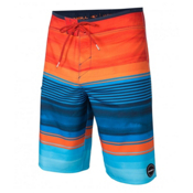 O'Neill Hyperfreak Heist Mens Board Shorts, Orange, medium