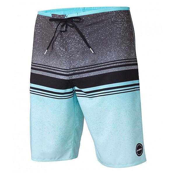 O'Neill Hyperfreak Fusion Mens Board Shorts, Asphalt, 600