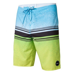 O'Neill Hyperfreak Fusion Mens Board Shorts, Lime, 256