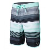 O'Neill Hyperfreak Heist Scallop Mens Board Shorts, Aqua, medium
