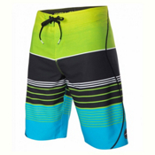 O'Neill Hyperfreak Transfer S-Seam Mens Board Shorts, Lime, medium