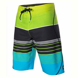 O'Neill Hyperfreak Transfer S-Seam Mens Board Shorts, Lime, 256