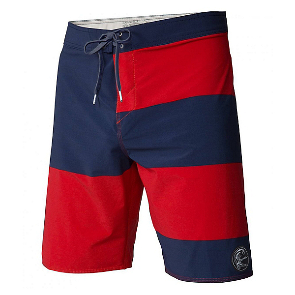 O'Neill Hyperfreak Basis Mens Board Shorts, Navy, 600