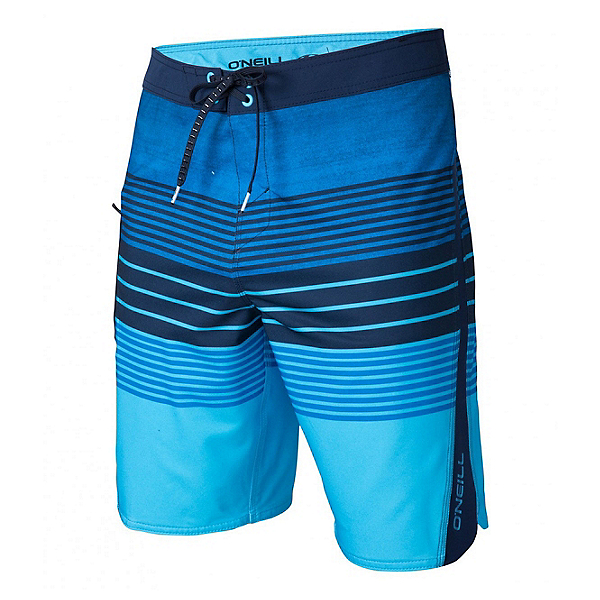 O'Neill Superfreak Status Mens Board Shorts, Blue, 600