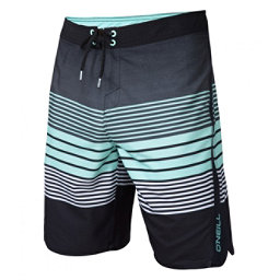 O'Neill Superfreak Status Mens Board Shorts, Asphalt, 256
