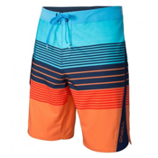 O'Neill Superfreak Status Mens Boardshorts, Orange, medium