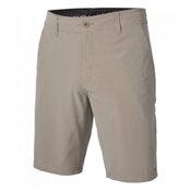 O'Neill Loaded Check Hybrid Mens Hybrid Shorts, Khaki, medium