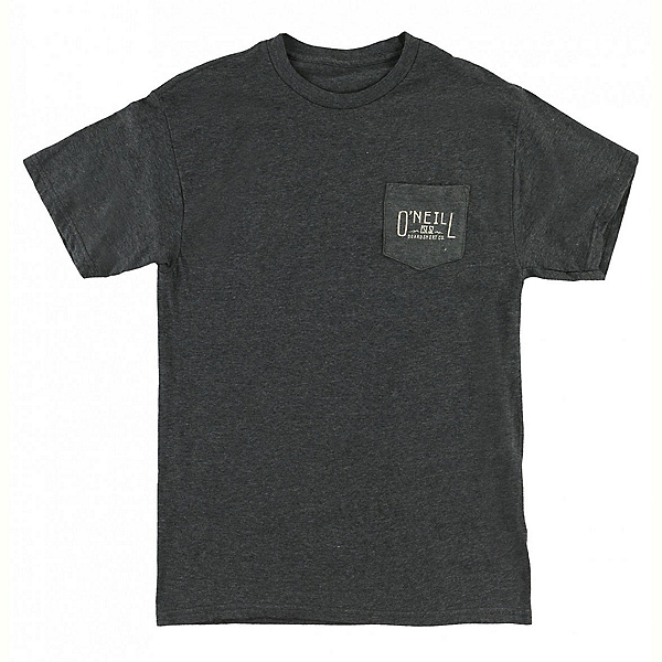 O'Neill Worker Mens T-Shirt, Heather Black, 600