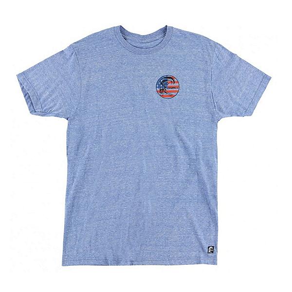 O'Neill Old Glory Mens T-Shirt, Royal Heather, 600