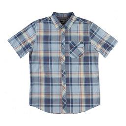 O'Neill Plaid Mens Shirt, Light Blue, 256