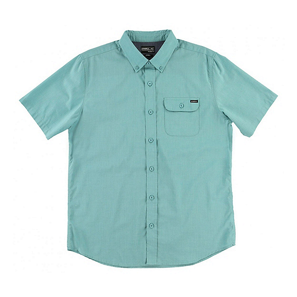 O'Neill Short Sleeve Mens Shirt, Jade, 600
