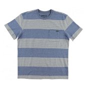O'Neill Watson Crew Mens T-Shirt, Blue, medium