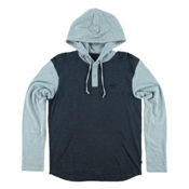 O'Neill The Bay Hooded Henley Mens Hoodie, Ocean, medium