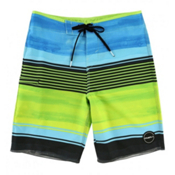 O'Neill Hyperfreak Heist Boys Bathing Suit, Lime, medium