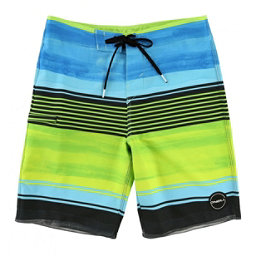 O'Neill Hyperfreak Heist Boys Bathing Suit, Lime, 256