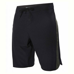 O'Neill Superfreak Scallop Mens Board Shorts, Black-Camo, 256