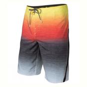 O'Neill Superfreak Fader Mens Boardshorts, Red, medium