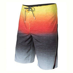 O'Neill Superfreak Fader Mens Board Shorts, Red, 256