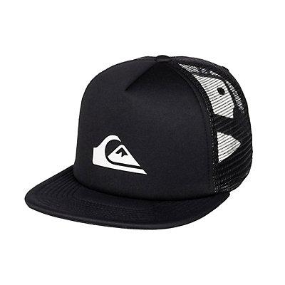 Quiksilver Snap Addict Hat, Black, viewer