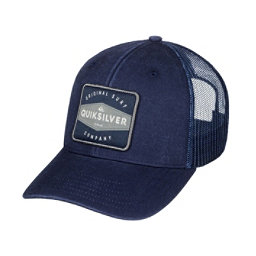 Quiksilver Destril Trucker Hat, Navy Blazer, 256