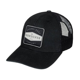 Quiksilver Destril Trucker Hat, Black, 256