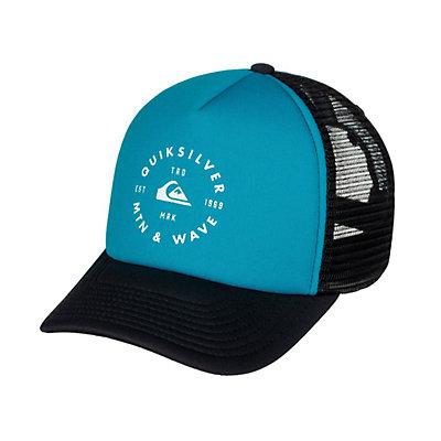 Quiksilver Foamblast Hat, Blue Danube, viewer