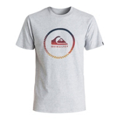 Quiksilver Active Momentum Mens T-Shirt, Athletic Heather, medium