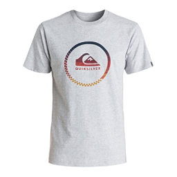 Quiksilver Active Momentum Mens T-Shirt, Athletic Heather, 256