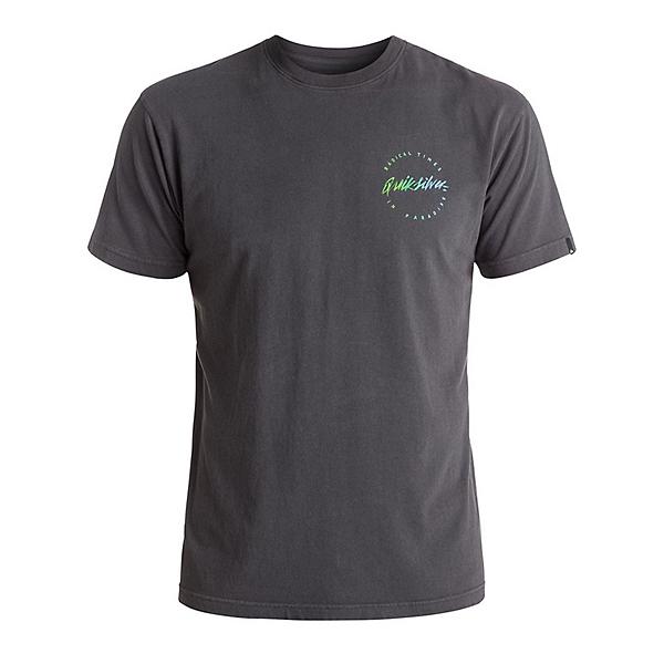 Quiksilver Right Up Mens T-Shirt, Tarmac, 600