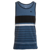 Quiksilver Swinger Tank Top, Estate Blue Heather, medium