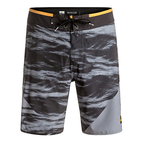 Quiksilver New Wave Mens Board Shorts, Black, 600
