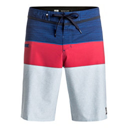 Quiksilver Everyday Blocked Vee Mens Board Shorts, Estate Blue, 256