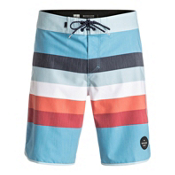 Quiksilver Seasons Scallop Mens Board Shorts, Angel Falls, medium