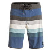 Quiksilver Seasons Scallop Mens Board Shorts, Estate Blue, medium