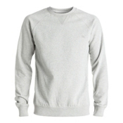 Quiksilver Everyday Crew, Light Grey Heather, medium