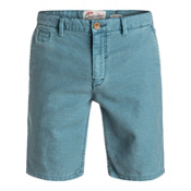 Quiksilver Greenwood Cutty Mens Shorts, Iceberg Green, medium