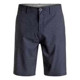 Quiksilver Platypus Amphibian Mens Hybrid Shorts, Navy Blazer, 256