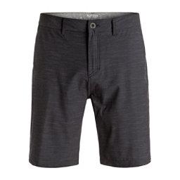 Quiksilver Slubbed Amphibian Mens Hybrid Shorts, Black, 256