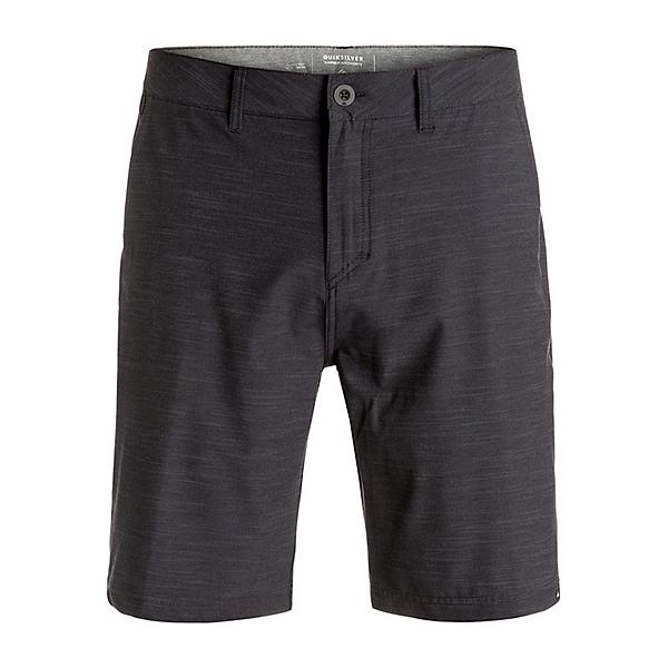 Quiksilver Slubbed Amphibian Mens Hybrid Shorts, Black, 600