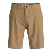 Quiksilver Slubbed Amphibian Mens Hybrid Shorts, Elmwood, medium