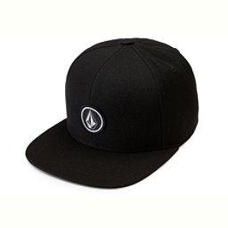 Volcom Quarter Twill Hat, Black, 256