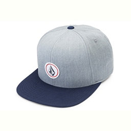 Volcom Quarter Twill Hat, Heather Grey, 256