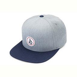 Volcom Quarter Twill Hat, Heather Grey, 256