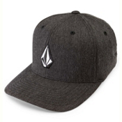 Volcom Full Stone Heather Hat, Charcoal Heather, medium
