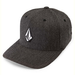 Volcom Full Stone Heather Hat, Charcoal Heather, 256