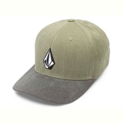 Volcom Full Stone Heather Hat, Light Army, medium