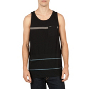 Volcom Threezy Tank Top, Black, medium