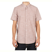 Volcom Everett Oxford Mens Shirt, Mauve, medium