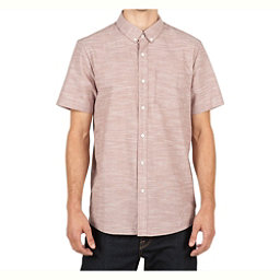 Volcom Everett Oxford Mens Shirt, Mauve, 256
